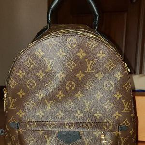 BNIB Louis Vuitton Palm Springs Mm Backpack